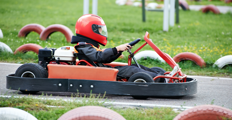 Children's go-karting