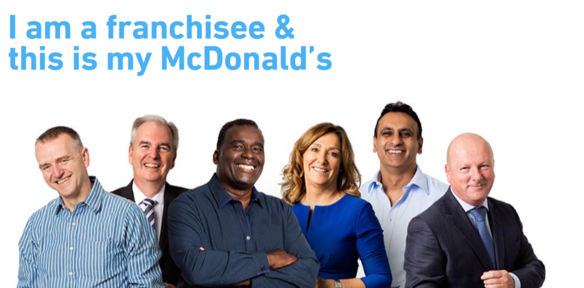 I am a franchisee and this is my McDonald's
