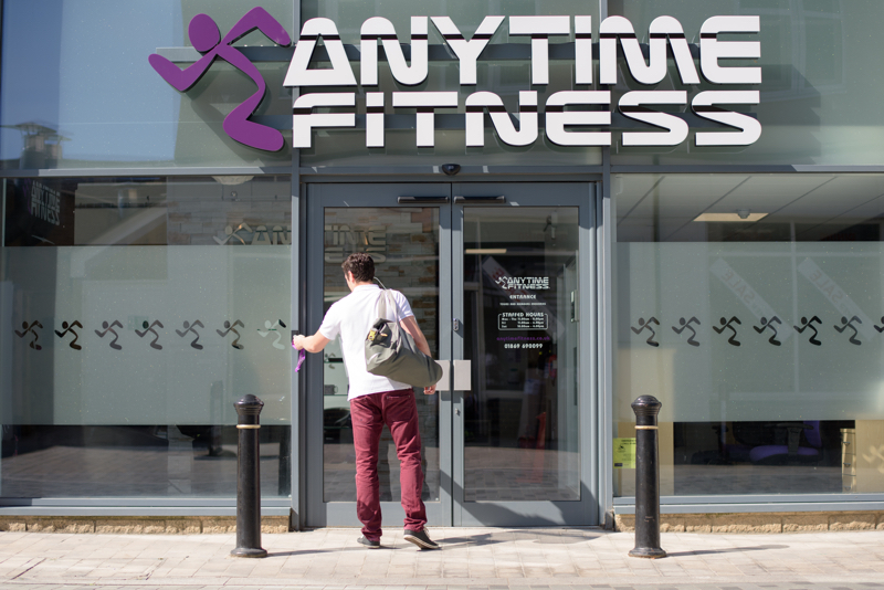 anytime fitness franchise business plan