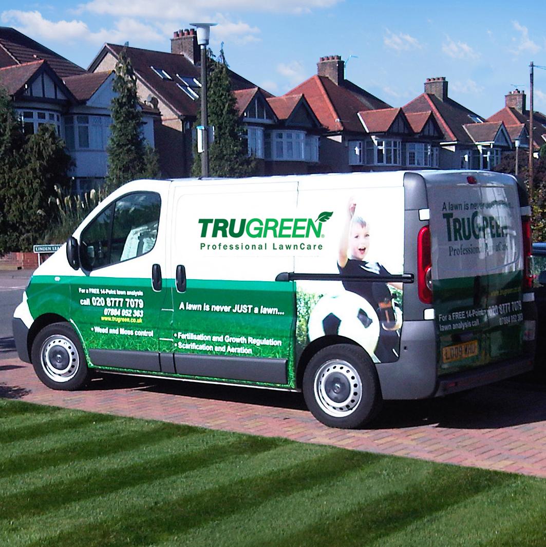 Trugreen franchise lawn care franchises for Garden maintenance van