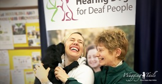 Training Hearing Dog Puppy with Lisa and Caroline from Wagging Tails