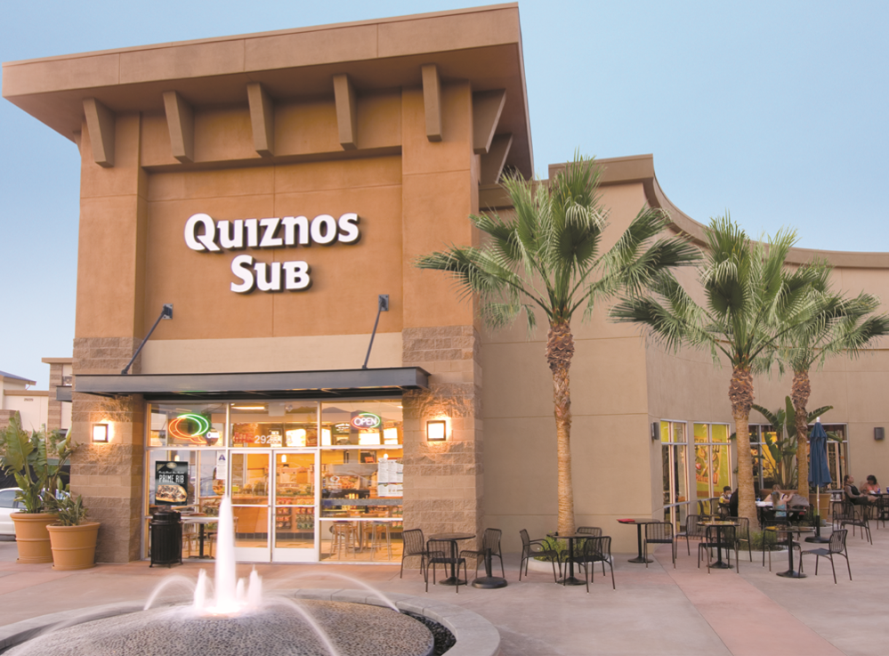 Quiznos Sandwhich Restaurant