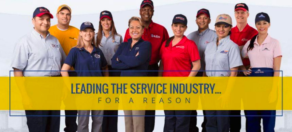 leading the service industry