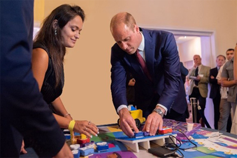 UK's Prince William met with Young Engineers