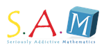 Seriously Addictive Mathematics logo