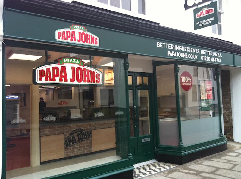 Papa Johns Franchise Pizza Delivery Franchises