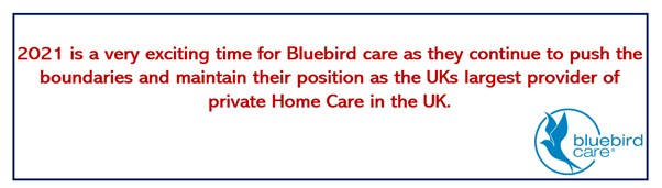 Bluebird Care is a fantastic management franchise opportunity.