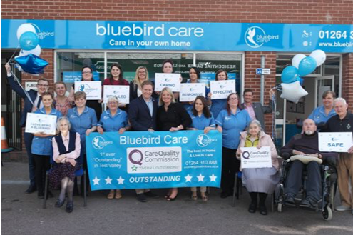 Join the Bluebird Care team