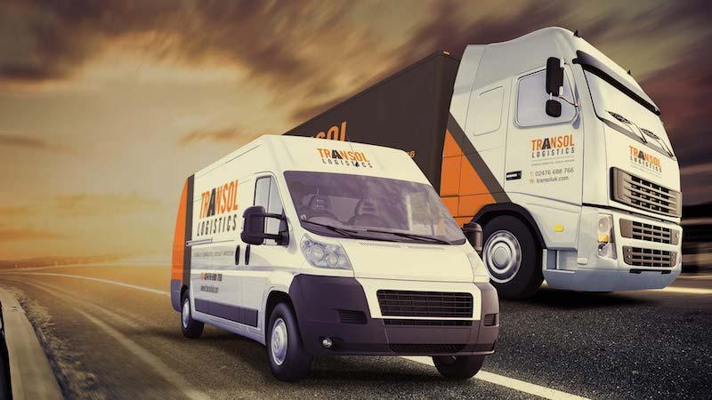 Transol Logistics Vans