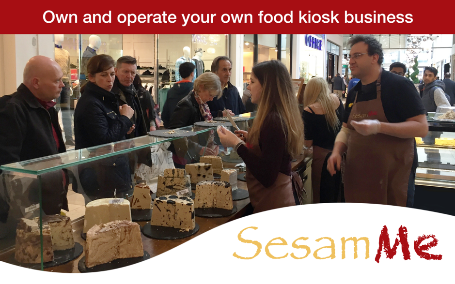 Own and operate your own food kiosk business