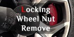 Locking Wheel Nut Remove