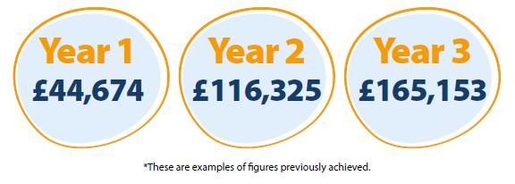 Earnings per year