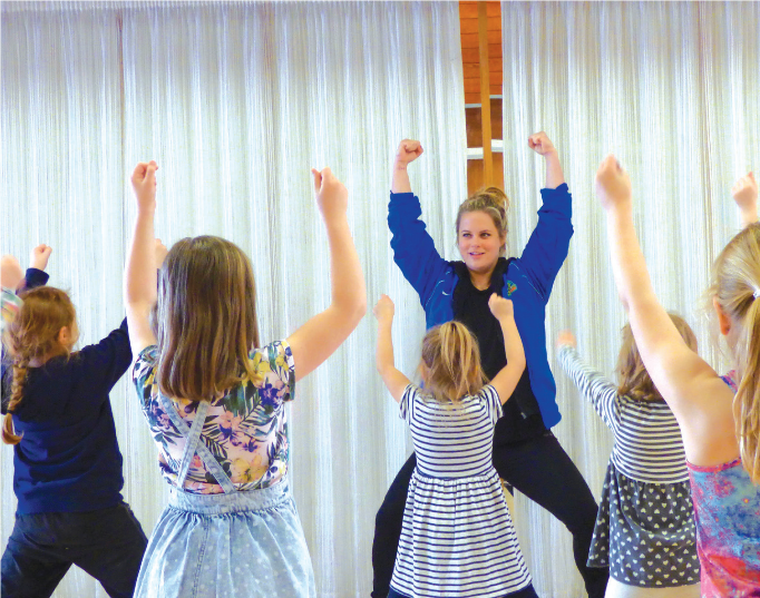 Dance Class Example