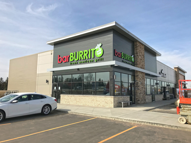 barBURRITO Mexican Restaurant Franchise