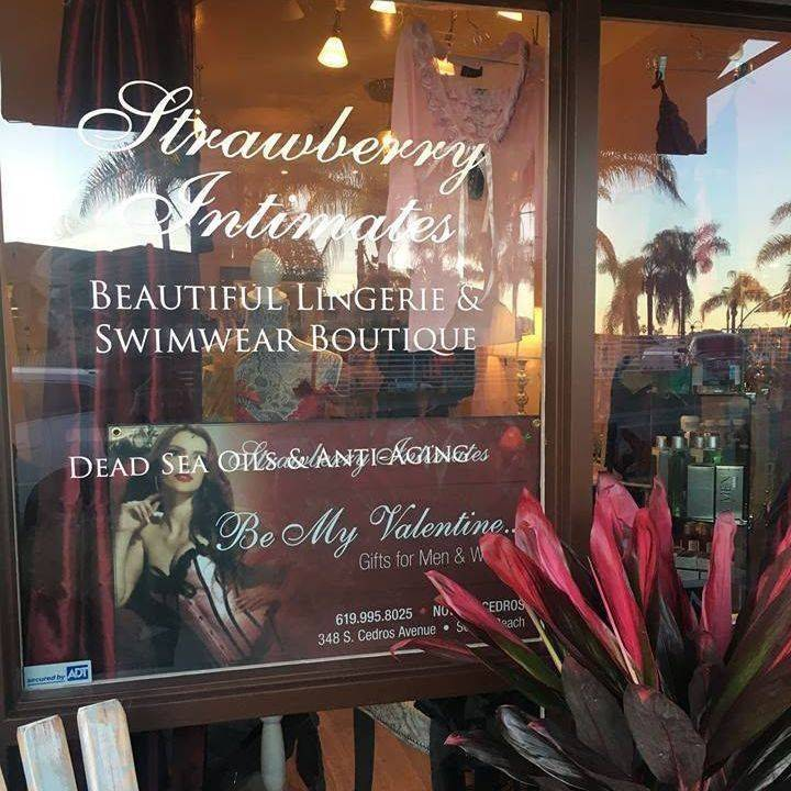 Strawberry Intimates gorgeous boutiques