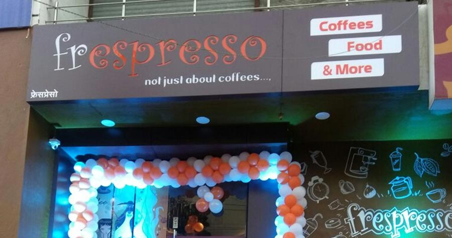 Café Frespresso franchises are now available in India.