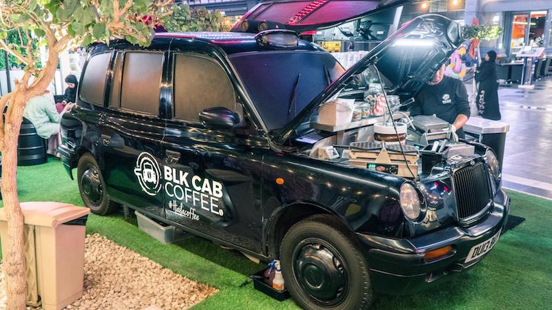 BLK Cab Coffee franchises